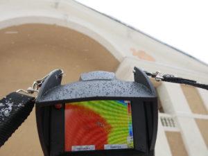 Пример тепловизионного обследования здания